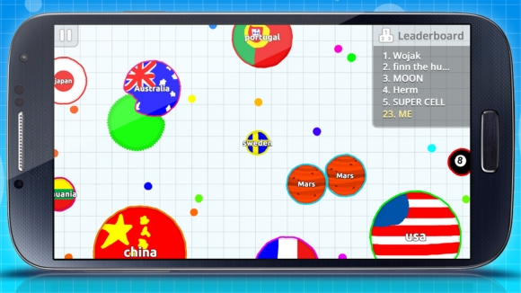 Agar.io iOS ve Android'e Geldi
