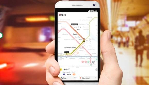 Yandex, İstanbul'da Metroya İndi