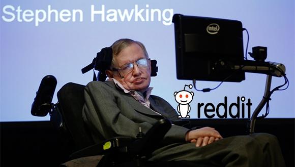 Stephen Hawking Reddit Sorularını Cevaplayacak!