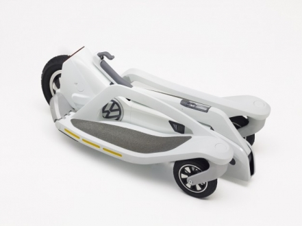Yeni Scooter Volkswagen Last Mile Surfer