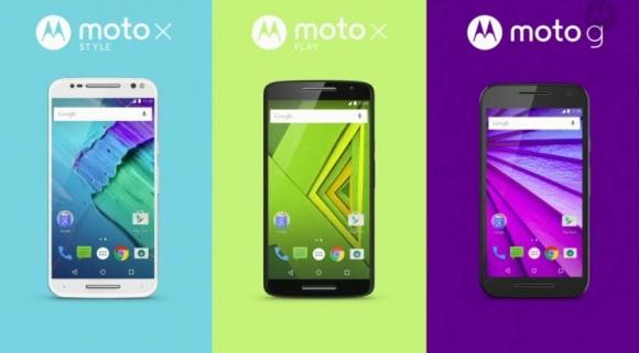 Moto X Style, Moto X Play ve Moto G Tanıtıldı!