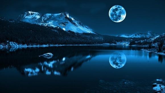 """""""Mavi Ay"""" Bu Gece Gökte Olacak"""