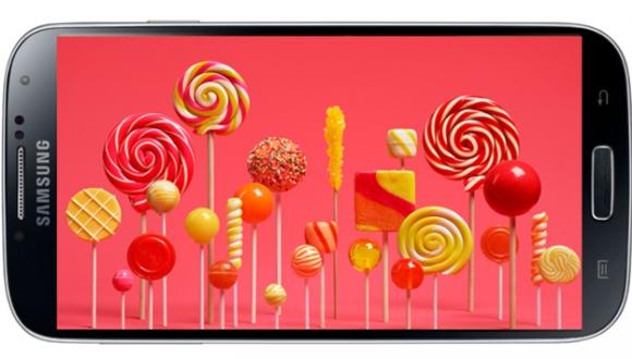 Samsung Galaxy S4 için Lollipop Türkiye'de
