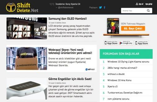 ShiftDelete.Net ve Webrazzi İşbirliği