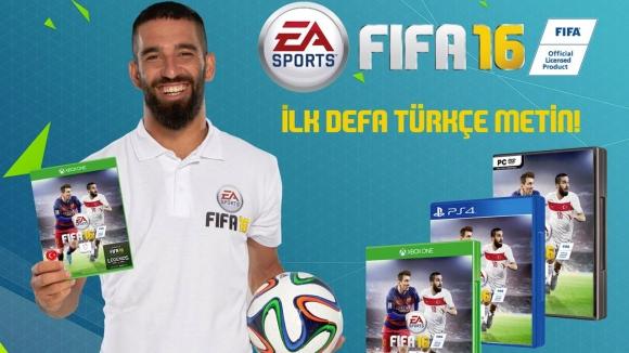 FIFA 16, Türkçe Geliyor!
