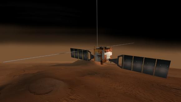 Mars Express Yörüngesinden Video