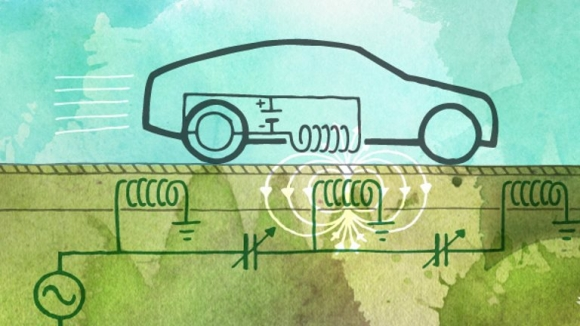 Elektrikli Otomobiller Yolda Şarj Edilecek