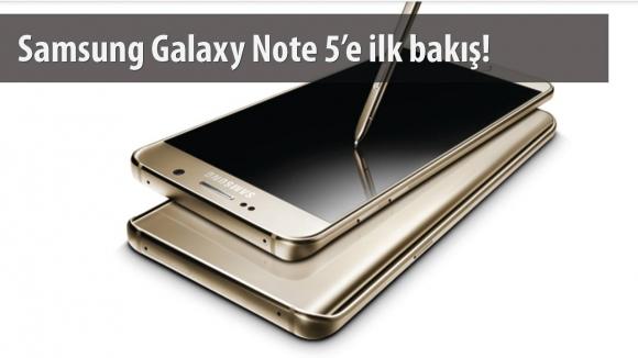 Galaxy Note 5 İlk Bakış Videosu