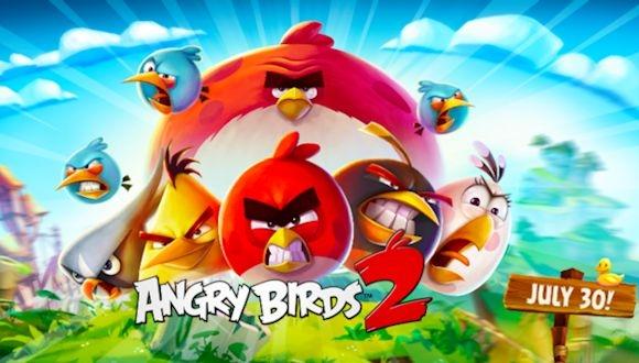 Angry Birds 2'den Büyük Başarı