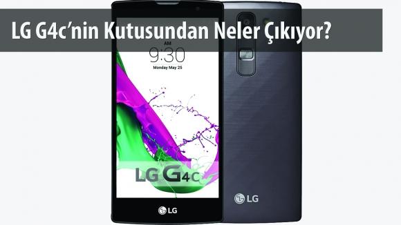 LG G4c Kutusundan Çıkıyor