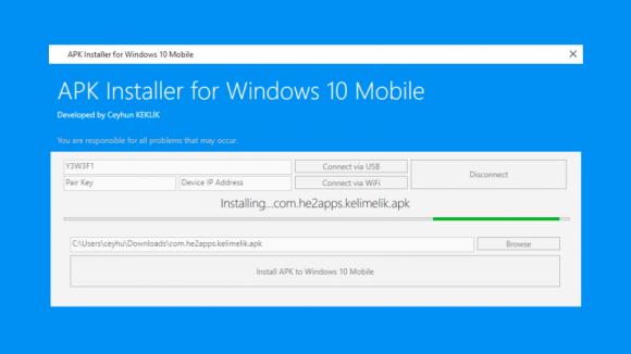 Windows 10'a APK Nasıl Yüklenir?