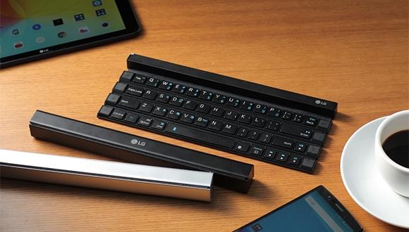 LG'den Yeni, Katlanabilir Klavye!