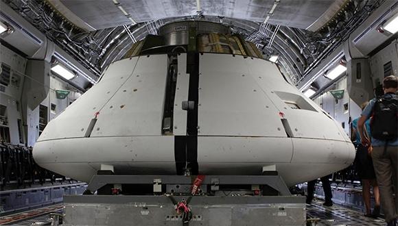 NASA'nın Orion Aracı'na Yeni Test!