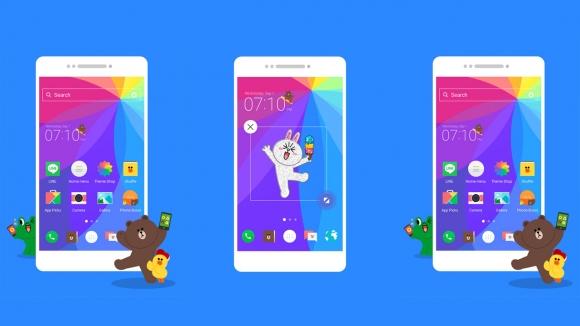 Android için LINE Launcher Çıktı!