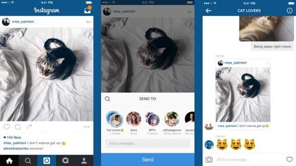 Instagram Mesajlaşma Özelliği Yenilendi