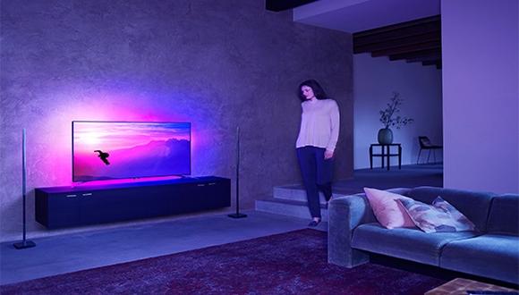 Philips 8601 UHD TV ile Eşsiz Ses Deneyimi