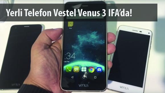 Vestel Venus 3 Özellikleri Videomuzda