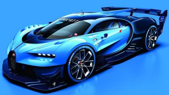 Bugatti Vision GT, Göz Kamaştırıyor!