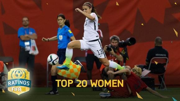 FIFA 16 En Güçlü Kadın Futbolcular!