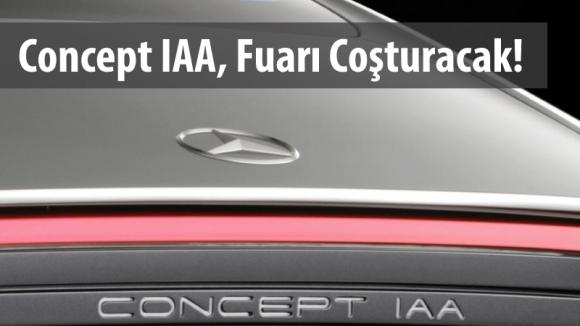 Mercedes-Benz'den Concept IAA Geliyor!