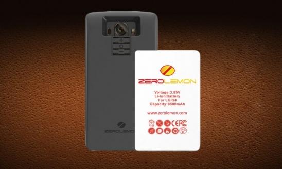 LG G4 İçin 8500 mAh Batarya!