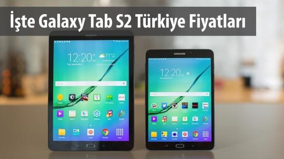 Galaxy Tab S2 Türkiye'de Satışta!