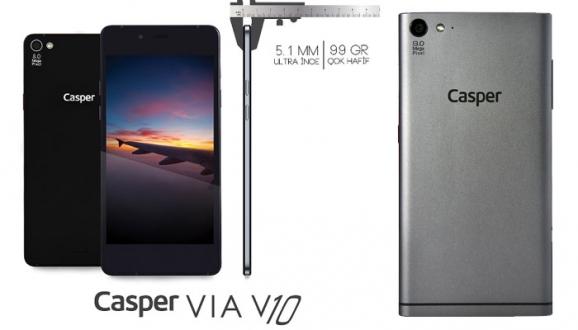 Casper VIA V10 Kutusundan Çıkıyor