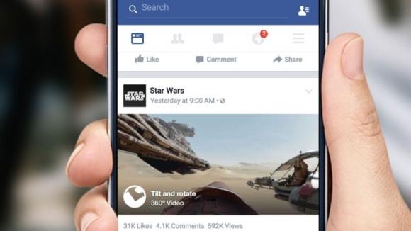 Facebook'a 360 Derece Videolar Geldi!