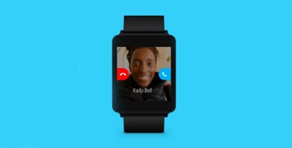 Android Wear için Skype Desteği