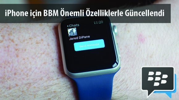 BBM'e Apple Watch Desteği!