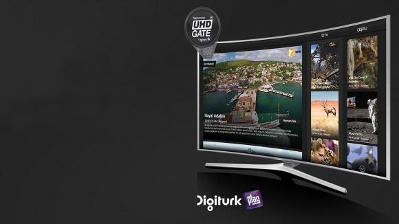 Samsung ile Digiturk'ten 4K Yayın!