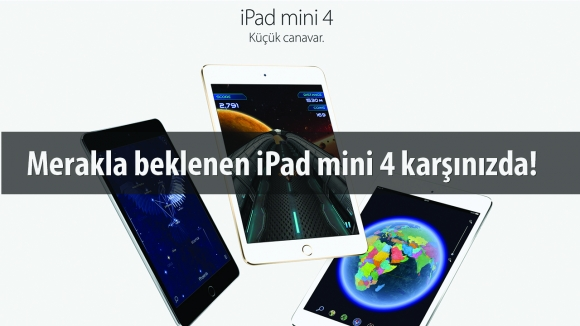 iPad mini 4 Kutusundan Çıkıyor