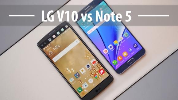 LG V10 ve Galaxy Note 5 Karşılaştırması