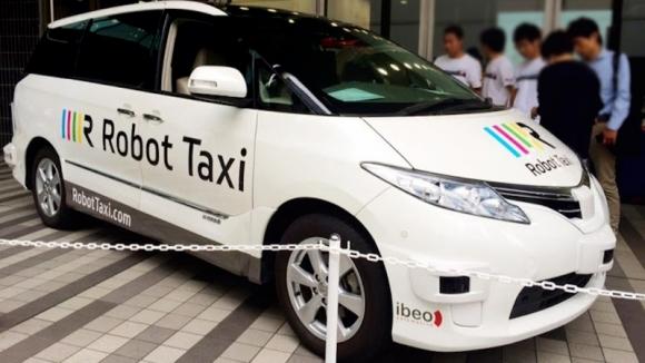 Sürücüsüz Taksi Testleri Başlıyor!