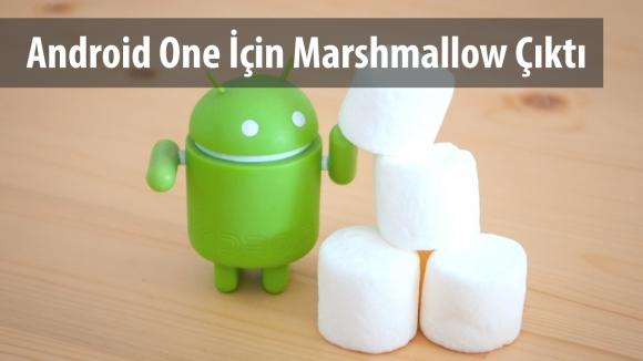 Android One için Android 6.0 Çıktı