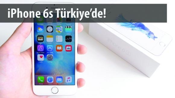 iPhone 6s Türkiye'de Satışa Sunuldu
