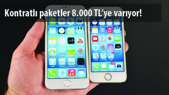 iPhone 6s ve 6s Plus Kontratlı Fiyatları