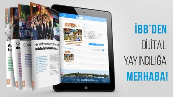 İBB Dergisi Dijital Yayıncılıkta!