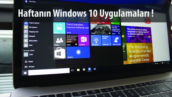 Haftanın Windows 10 Uygulamaları – 26 Ekim