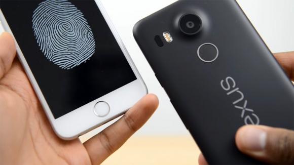 Nexus 5X, iPhone 6s'ten Daha Hızlı Parmak Okuyor!