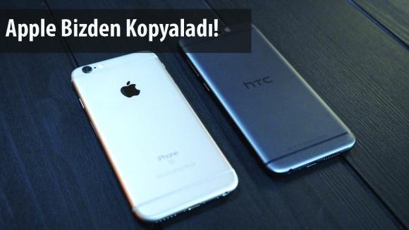 HTC, Apple Bizden Kopyaladı Dedi!