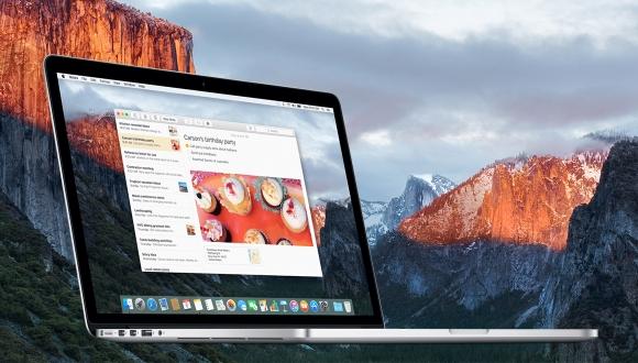 OS X El Capitan Güncellendi!