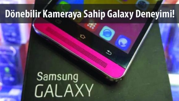 Samsung'dan Dönebilir Kameralı Telefon!