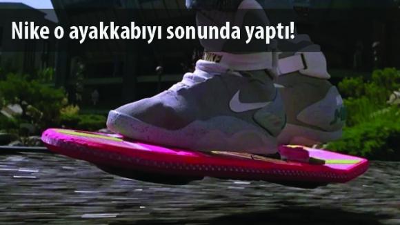 Nike Geleceğe Dönüyor!