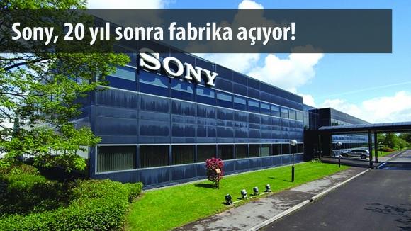 Sony, Akıllı Telefon Fabrikası Açıyor!