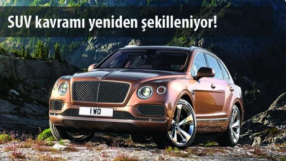 En Hızlı SUV: Bentley Bentayga
