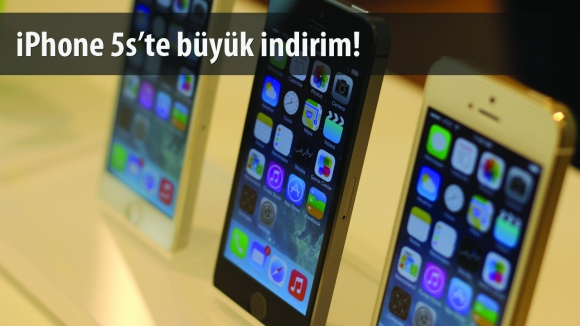 iPhone 5s İndirime Girdi!