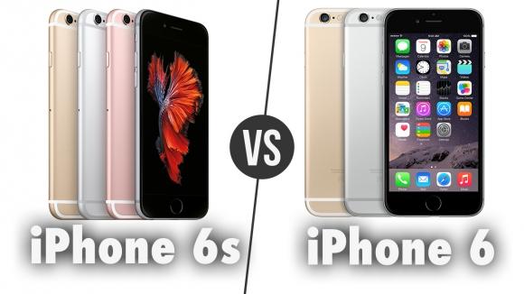 iPhone 6s ile iPhone 6 Karşı Karşıya