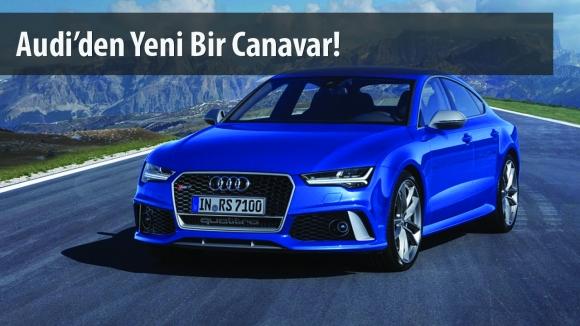 Yenilenen Audi RS7, Sınır Tanımıyor!