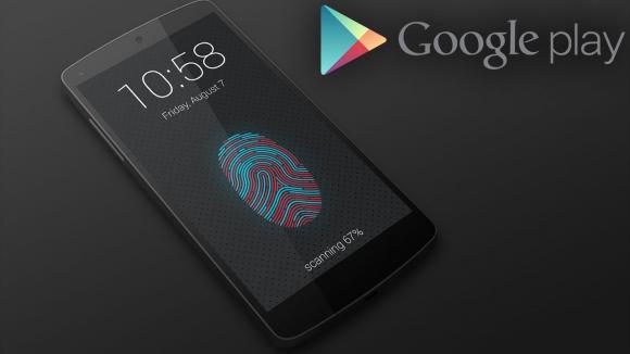 Google Play için Parmak İzi Desteği!